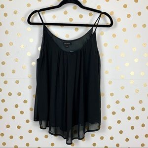 Miss Avenue Chiffon Swing Tank